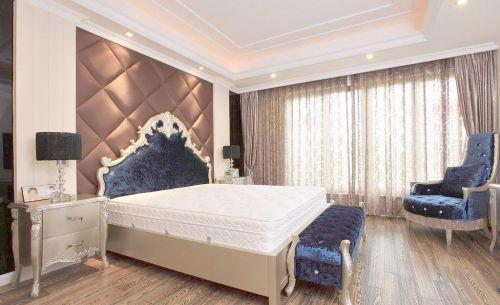 高贵典雅小户型卧室床头柜效果图