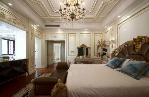 典雅大气欧式风格卧室装修实景图