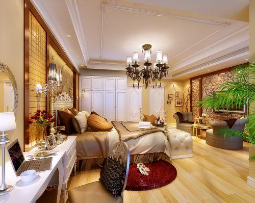 现代欧式二居室卧室装修效果图欣赏