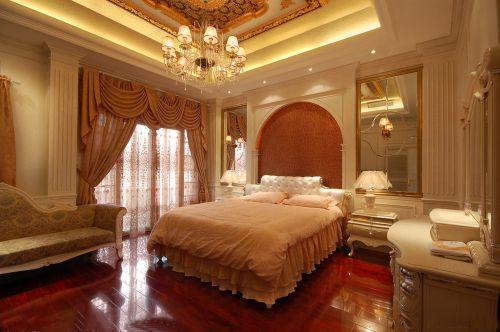 欧式古典三居室卧室装修图片