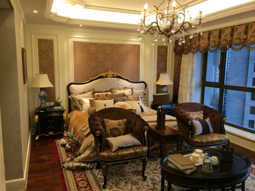 欧式古典三居室卧室装修图片欣赏