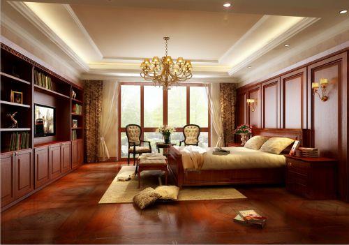 欧式风格四居室卧室飘窗装修效果图欣赏