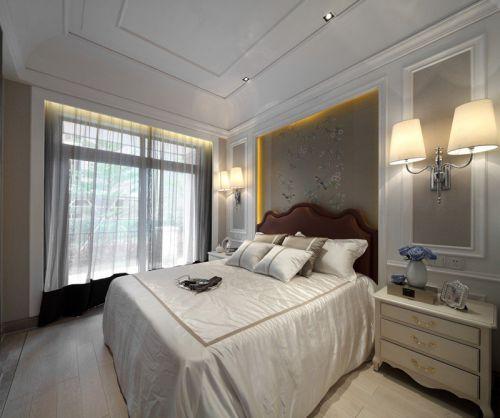 时尚温馨卧室装修欧式风格设计效果图