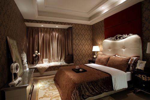 欧式风格复式卧室装修效果图大全