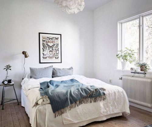 欧式风格简约卧室设计装修效果图