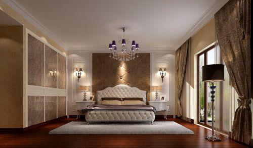 欧式风格四居室卧室吊顶装修效果图