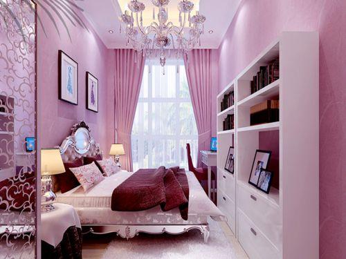 欧式风格五居室卧室照片墙装修效果图大全