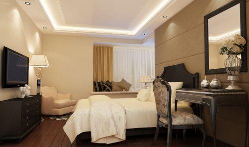 欧式风格卧室梳妆台效果图