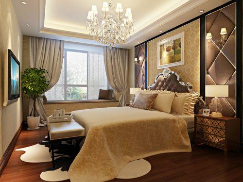 欧式风格二居室卧室装修图片欣赏