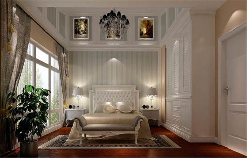 欧式风格五居室卧室床头柜装修效果图大全