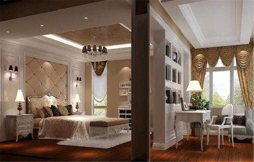 欧式风格五居室卧室壁纸装修效果图欣赏