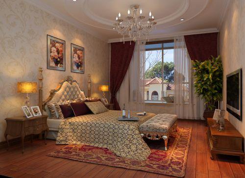 欧式经典三居室卧室装修图片欣赏