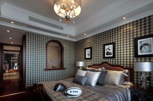 古典欧式三居室卧室装修效果图