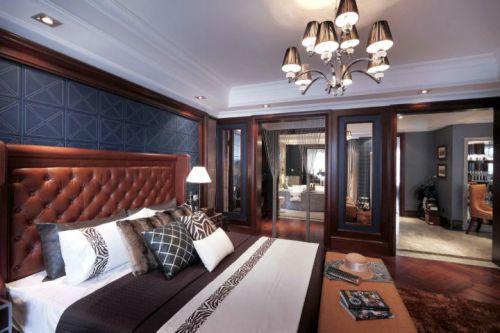 古典欧式三居室卧室装修效果图欣赏