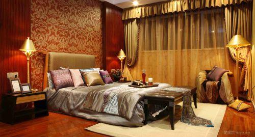 大气豪华的欧式卧室装修效果图