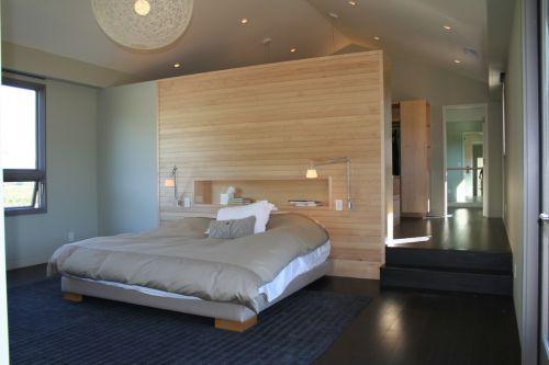简约欧式四居室卧室隐形门装修效果图