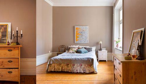115平欧式风格粉色卧室装修效果图