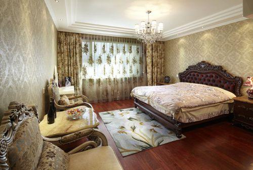 欧式三居室卧室装修效果图欣赏