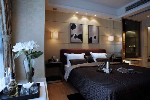 典雅欧式风格浪漫奢华卧室装修效果图