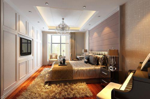 新欧式三居室卧室装修效果图大全
