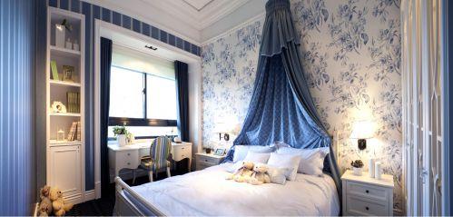 欧式古典四居室卧室装修效果图大全