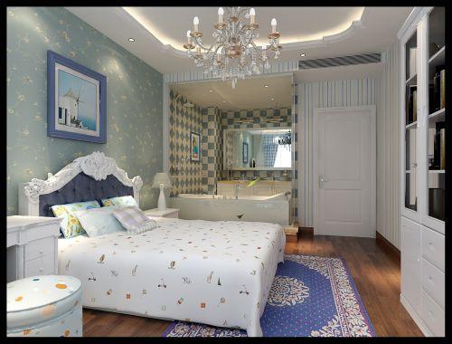 欧式混搭四居室卧室装修效果图
