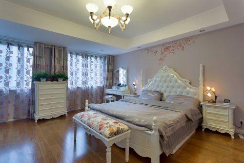 欧式风格五居主室卧室装修效果图