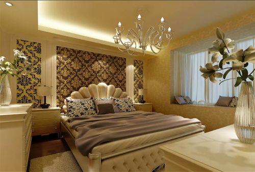 欧式古典四居室卧室装修图片