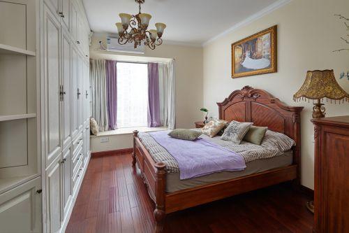 古典欧式风格卧室飘窗装修案例