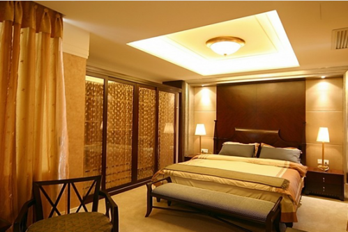欧式风格二居室卧室装修效果图欣赏