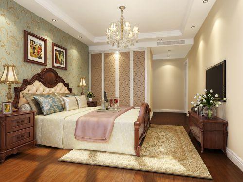 欧式豪华风格四居室卧室装修图片