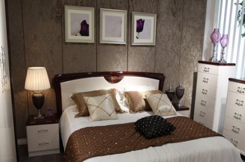欧式风格一居室卧室装修图片欣赏