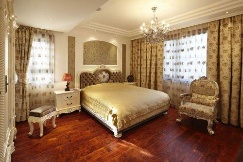 欧式风格三居室卧室装修效果图欣赏