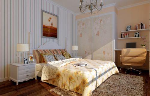 中欧式结合五居室卧室装修图片