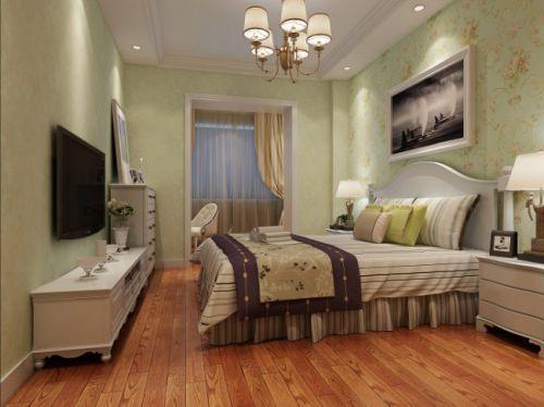 古典欧式二居室卧室装修效果图大全