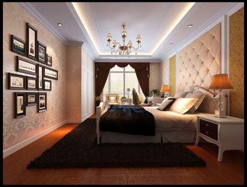 新欧式三居室卧室装修图片欣赏