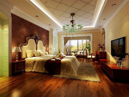 欧式风格五居室卧室装修效果图大全