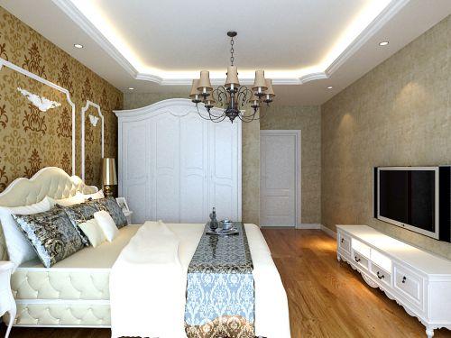 欧式风格三居室卧室装修效果图