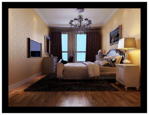 欧式四居室卧室装修图片欣赏