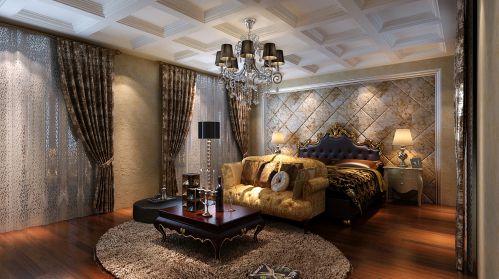 欧式古典五居室卧室装修效果图欣赏