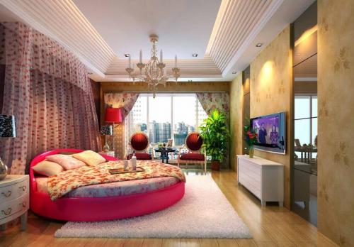 现代欧式复式卧室装修效果图欣赏