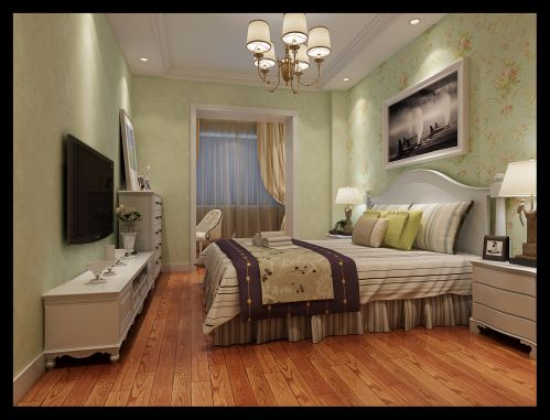 欧式古典四居室卧室装修效果图欣赏