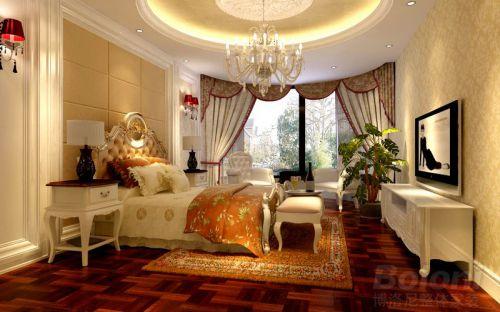 欧式,奢华四居室卧室装修效果图