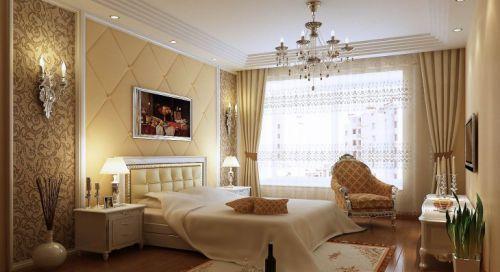 欧式风格别墅卧室装修图片欣赏