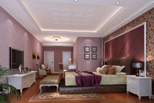 欧式古典别墅卧室装修效果图大全