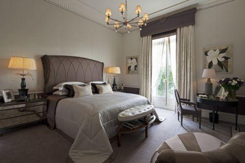 典雅欧式风格雅致卧室装修图片