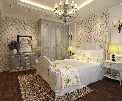 奢华浪漫田园风格卧室效果图