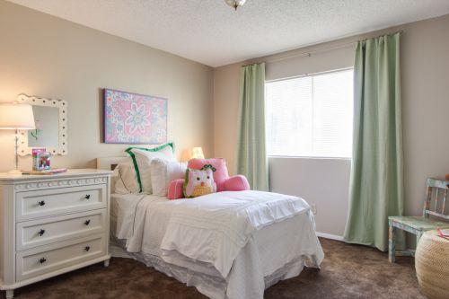 小型卧室装修效果图大全清新田园风格