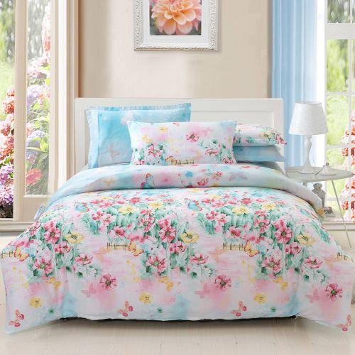 田园风格浪漫彩色卧室装修效果图