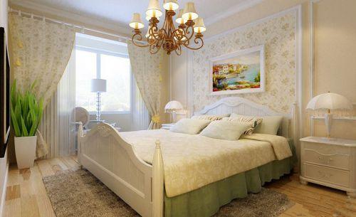 田园风格三居室卧室衣柜装修效果图大全